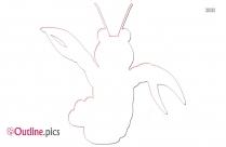 Baby Snail Outline Art