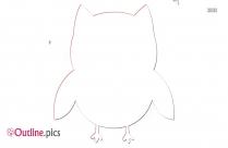 Cartoon Bird Outline Pic