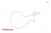 Cartoon Snail Outline Free Vector Art