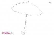 Umbrella Outline Background