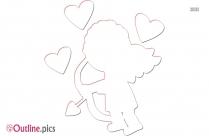 Evil Cupid Outline