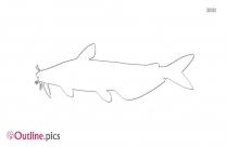 Whale Sea Animal Outline