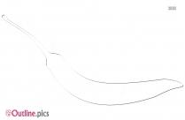 Chili Outline Image