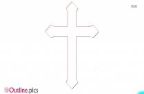 Cross Christian Symbol Outline