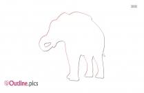 Clip Art African Elephant