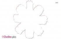 Tulips Outline Sketch