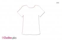 Gym Pant Outline Sketch