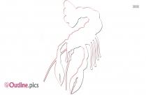 Crustacean Clipart Outline