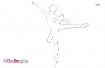 Happy Dance Clipart Outline