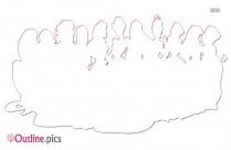 Princesas Disney Outline Pic