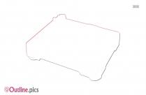 Dj Turntable Clip Art Outline