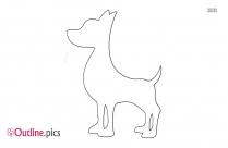 perro lobo dog outline image
