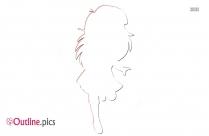 Dora The Explorer Outline Pic