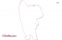 Cartoon Characters Dora The Explorer Outline Clipart