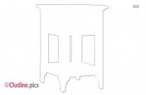 Drawer Table Outline Design
