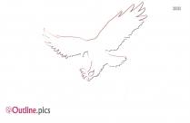Eagle Outline Image