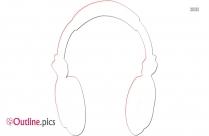 Ear Buds Outline Image