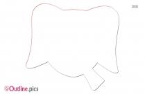 Elephant Trunk Outline Illustration