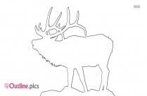 Elk Outline