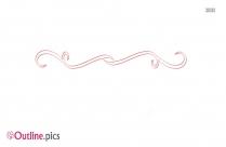 Fancy Line Divider Outline Pic