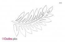 Grape Tree Leaf Outline