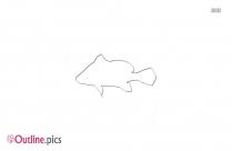 Free Cartoon Crappie Fish Outline