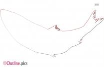 Scup Fish Outline Illustration