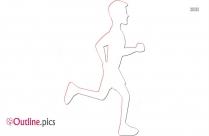 Fitness Jogging Outline Design