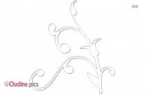 Bluebonnet Flower Outline Image And Vector