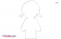 Jump Clipart Girl Hop Outline