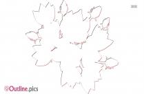 Free Columbine Flower Outline
