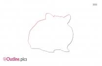 Hippo Outline Clip Art