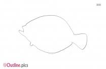 Sea Creature Outline Design