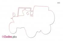 Car Trunk Outline Background
