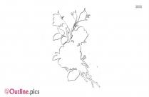 Free Rosa Multiflora Outline