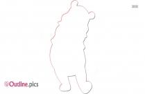 Free Winnie The Pooh Cartoon Outline