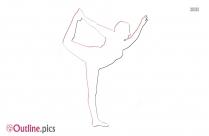 Bridge Yoga Pose Forte Yoga Outline Pic
