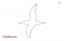 Frigate Bird Outline