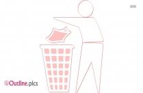 Trash Outline Image