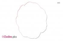 Gardenia White Magnolia Flower Outline Image
