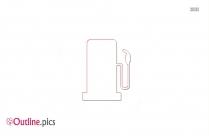 Gas Pump Clip Art Outline