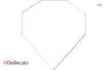 Gemstone Outline Image