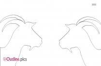 Goat Head Outline