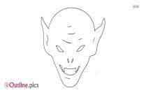 Goblin Head Outline
