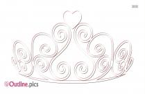 Italian Crown Outline Image