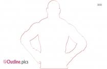 Goldberg Wrestler Outline Image And Vector