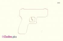 Gun Outline Clip Art