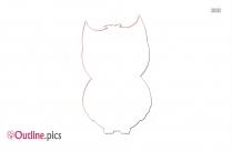 Horned Owl Outline Free Vector Art