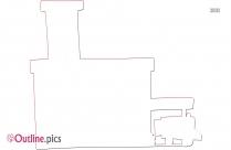 Hospital Building Outline Image