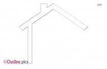 House Roof Outline Clip Art